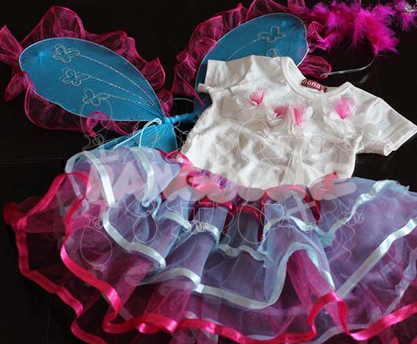 لباس پروانه ای