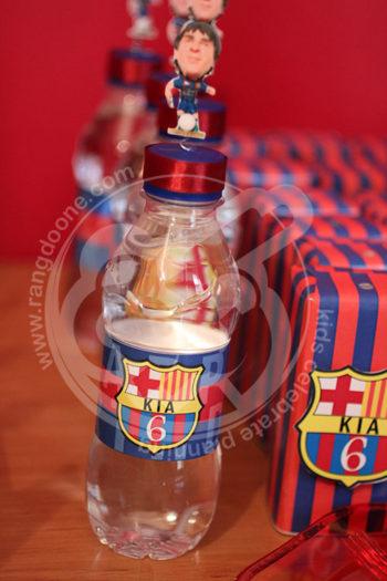 لیبل آب معدنی بارسلونا