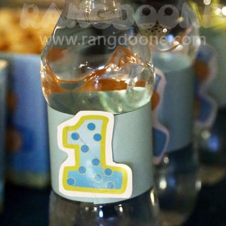 لیبل آب معدنی تدی خرس