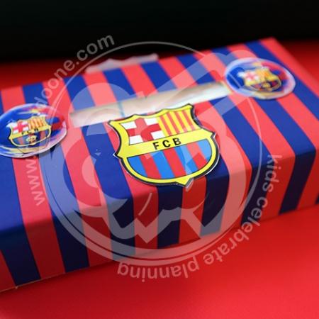 دستمال کاغذی بارسلونا