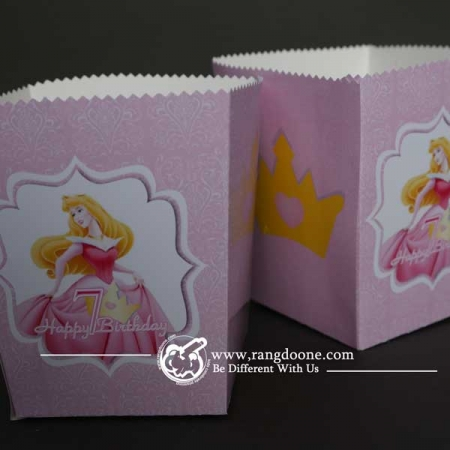 جعبه پاپ کورن پرنسسی