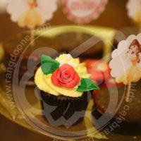 کاپ کیک دیو و دلبر