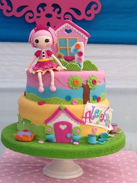 کیک تولد لالالوپسی