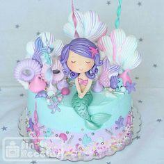کیک پری دریایی