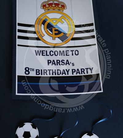 آویز خوش آمد رئال مادرید