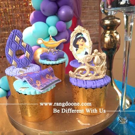 کاپ کیک پرنسس جاسمین