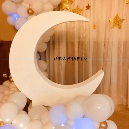 ماکت ماه سفید